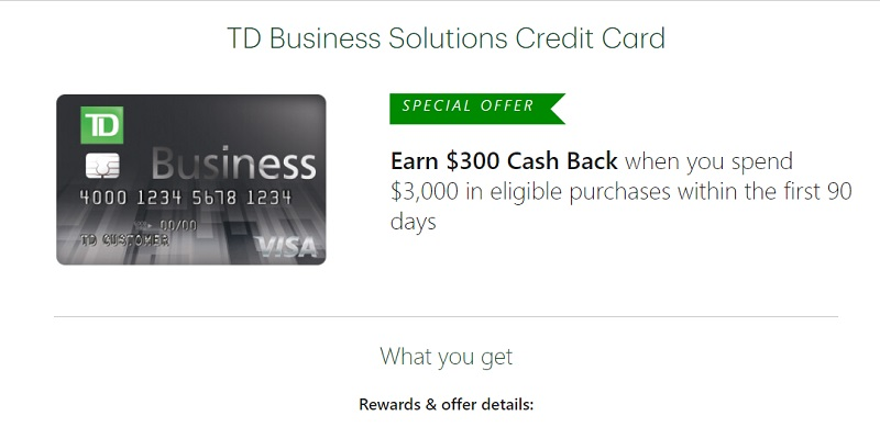 TD Business Solution Credit Union