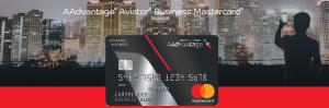 Barclaycard AAdvantage Aviator Business MasterCard 40,000 Bonus Points + 2X AA Miles + 5% Annual Mile Bonus