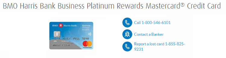 BMO Harris Bank Business Platinum Rewards Mastercard + 10K Bonus Points + 0% Introductory APR on Purchases for First 9 months + No Annual Fee