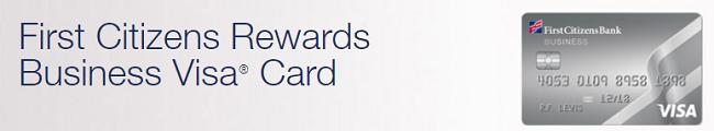 First Citizens Rewards Business Visa Card