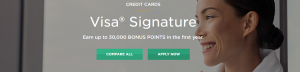 iBERIABANK Visa Signature Card 30,000 Bonus Points + 1X Points on Every Day Purchases
