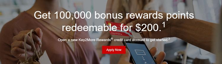 KeyBank Key2More Rewards Credit Card 50,000 Bonus Points +