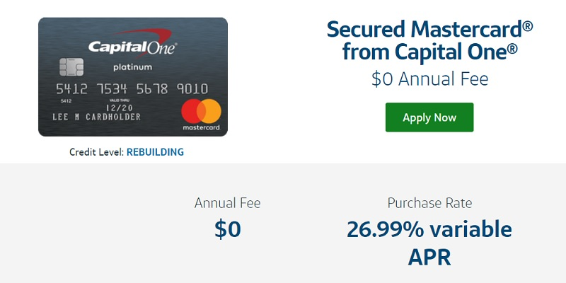 Capital One Secured Mastercard bonus promotion offer review