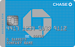 Chase total business checking account 200 cash bonus chase business atm cards convenient and safe colourmoves Gallery