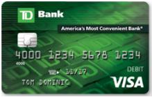 TD Bank Personal Debit Card
