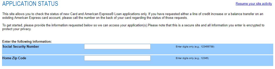 Application Status Amex Bank Deal Guy