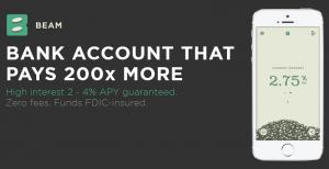 Beam Review – High Interest Savings Account