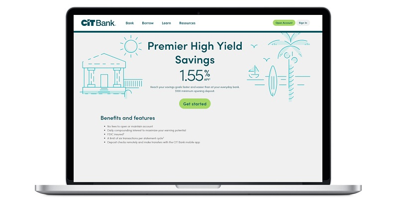 CIT Bank Premier High Yield Savings account bonus promotion offer review