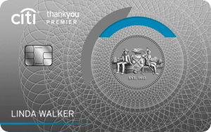 Citi ThankYou Premier Card 60,000 Bonus Points + 3X Points On Travel + 2X Points on Dining and Entertainment + Annual Fee Waived First Year