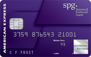 Starwood Preferred Guest Card from American Express 75,000 Bonus Points
