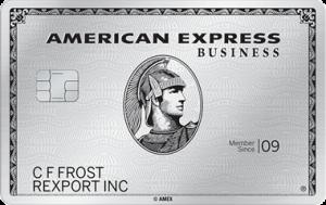 American Express Business Platinum Card 50,000 Bonus PointsUpgrade (Targeted)