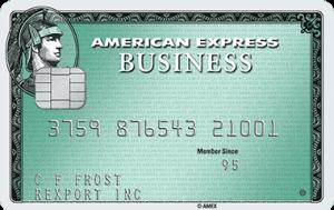 Business Green Rewards Card from American Express 5,000 Membership Rewards Points Bonus