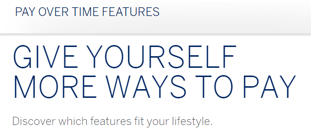 Amex Pay Over Time Offer: Get 10,000 Membership Rewards Points For Enrolling In Extended Payment Option [Targeted]