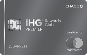 Chase IHG Rewards Club Premier Credit Card 100,000 Bonus Points + Free Night After Each Account Anniversary Year