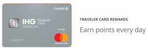 Chase IHG Rewards Club Traveler Card 60,000 Bonus Points