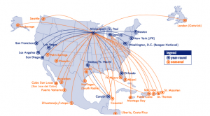 Sun Country Airlines Visa Signature Card 30,000 Points Bonus + 2X Points on Airline Purchases + Annual Fee Waived First Year