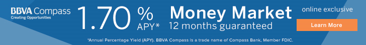 BBVA MMA 1.50% APY Banner