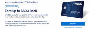 American Express Cash Magnet Card Bonus: Earn Up To $250 Welcome Offer + Unlimited 1.5% Cashback + No Annual Fee