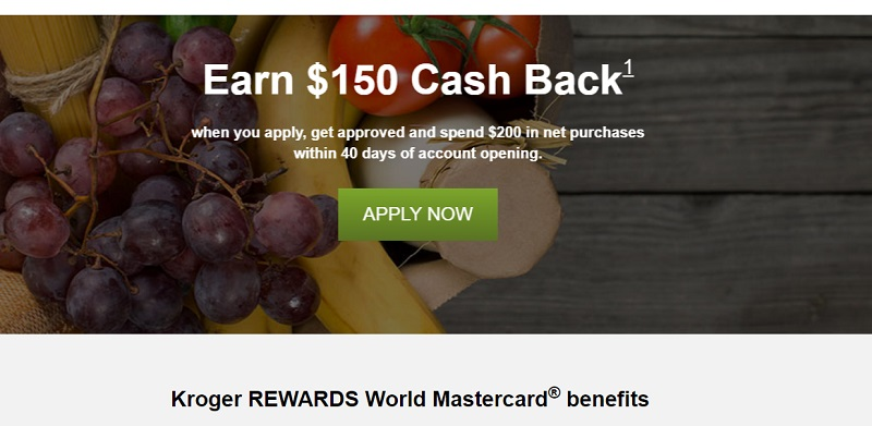 Kroger Rewards Mastercard $100 Statement Credit Bonus + No
