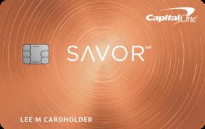 Capital One SavorCash Rewards Credit Card $500 Bonus + Unlimited 4% Cash Back on Dining + 2% on Groceries