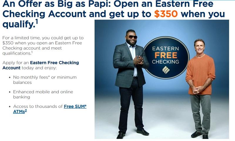 Eastern Bank Bonus