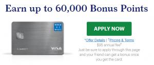 World of Hyatt Credit Card Referral Bonus: 60,000 Points Offer