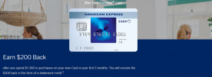 Amex Blue Cash Everyday Referral Bonus: $200 Bonus Cash Back
