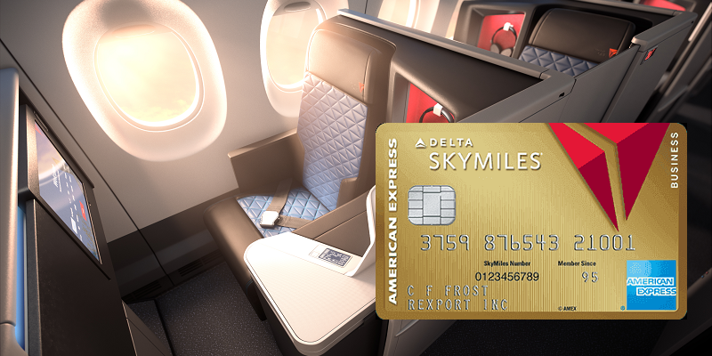 Amex Gold Delta SkyMiles Business credit card bonus promotion offer review