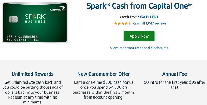 Capital One Spark Cash Business