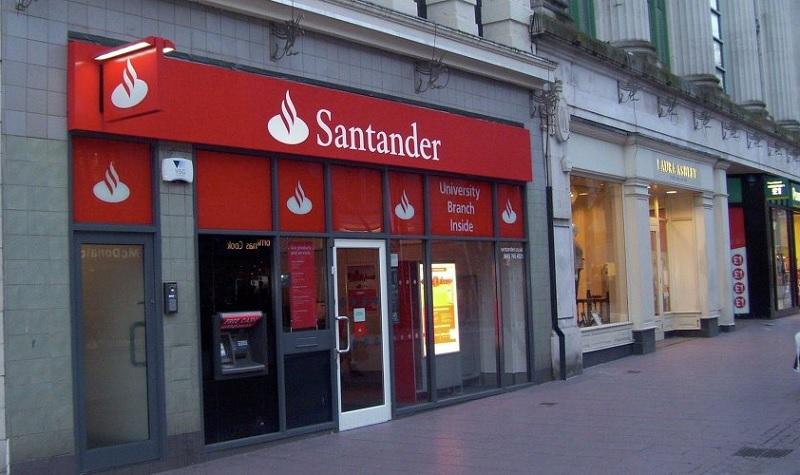 Santander bank $620