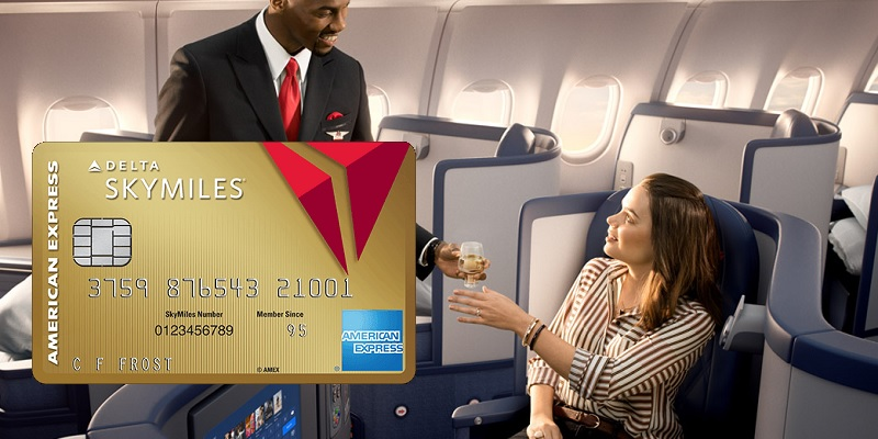 Amex Gold Delta SkyMiles Credit Card bonus promotion offer review