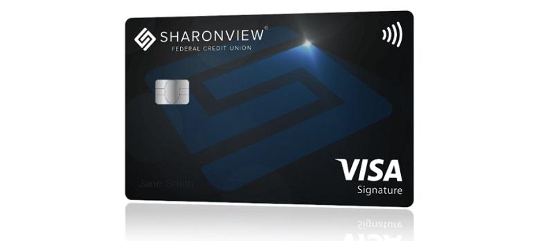 Sharonview Federal Credit Union Visa Signature Card