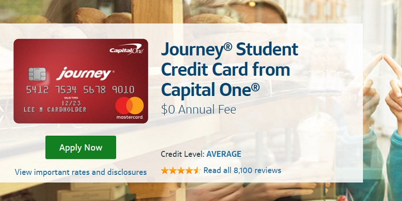 Capital One Journey Student Credit Card bonus promotion offer review