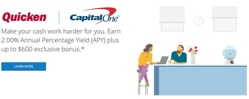 Capital One Quicken Bonus