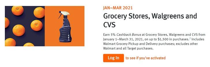 Discover 5% Cash Back Q1