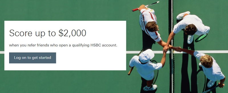 HSBC referral bonus