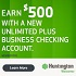 Huntington Unlimited Plus Business Checking