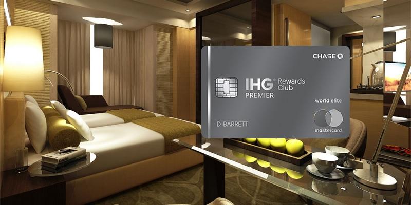 IHG Rewards Club Premier credit card bonus promotion offer review