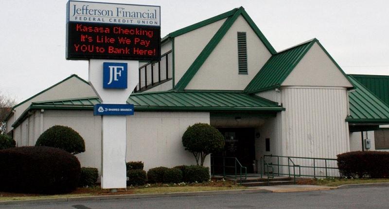 Jefferson Financial Credit Union CD Rates: 12-Month Term 2.96% APY CD Rate [AL, LA]