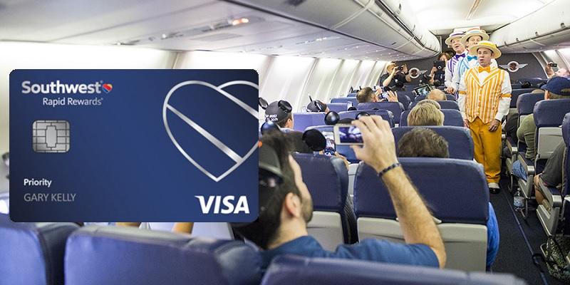 Southwest Rapid Rewards Priority credit card bonus promotion offer review