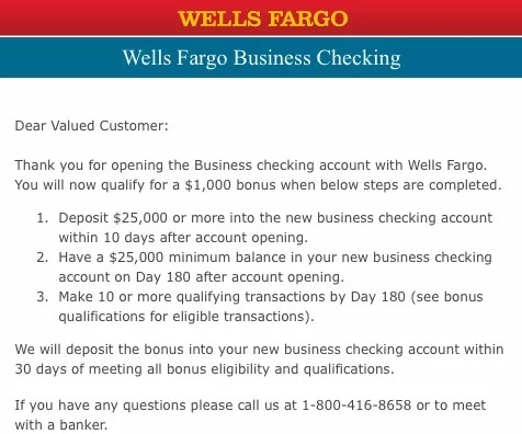 Wells Fargo Promotions: $50, $300, $400, $500 & $1,000