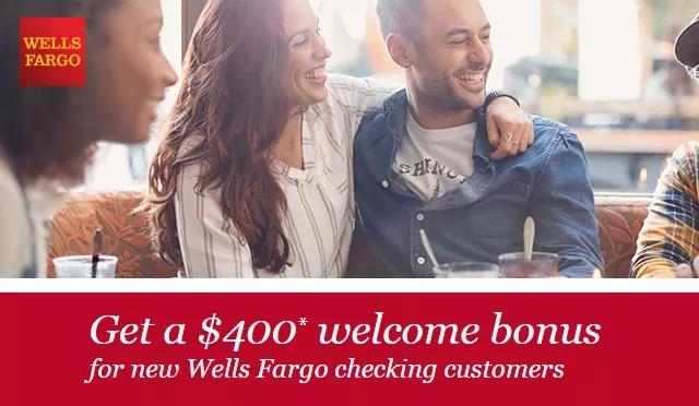 Wells Fargo $400 Bonus