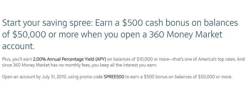 Capital One 360 Promotions: $100, $200, $500, $600, $1,000 Checking