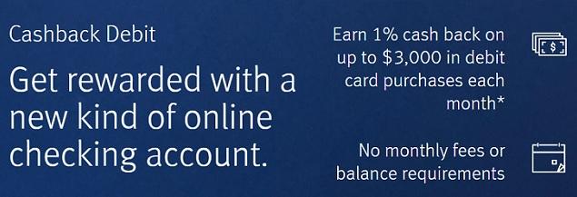 Discover Cashback Debit Account Bonuses