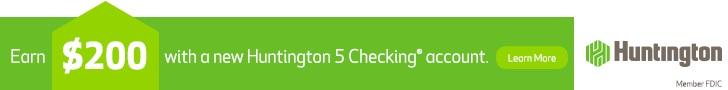 Huntington 5 Checking account