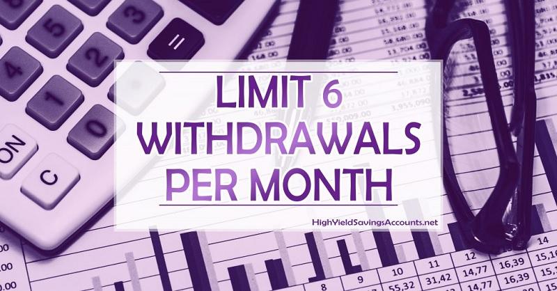 cit bank savings withdrawal limit