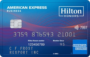 The Hilton Honors American Express Business Card Bonus