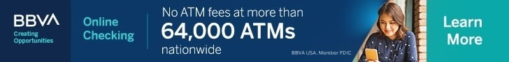 BBVA Online Checking Bonus