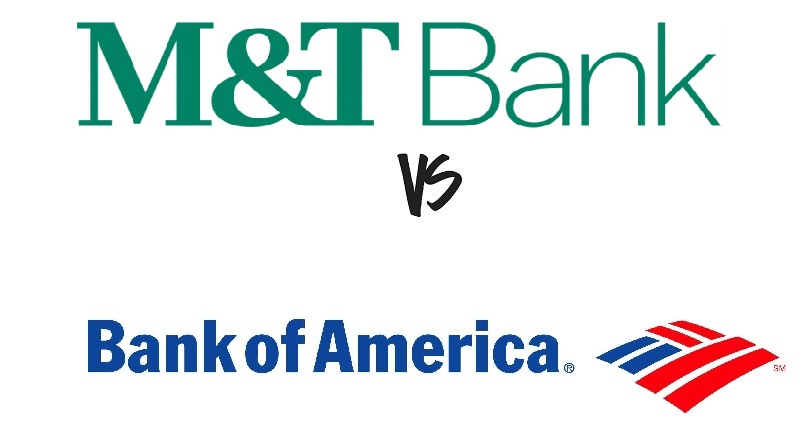 M&T Bank vs Bank of America