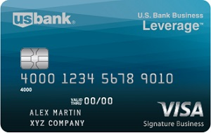 U.S. Bank Business Leverage Visa Card Bonus